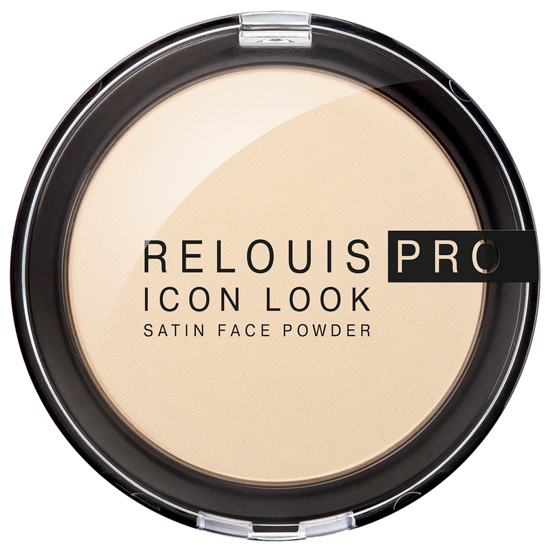 Купить RЕLОUIS Пудра компактная RELOUIS PRO Icon Look Satin Face Powder